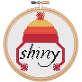 Shiny Firefly Inspired TV Television Cross Stitch Pattern Download Intermediate