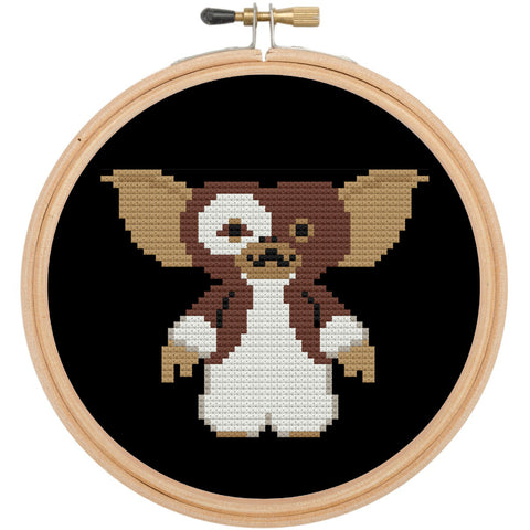 Gizmo Gremlin Film Movie Cross Stitch Pattern DOWNLOAD Intermediate