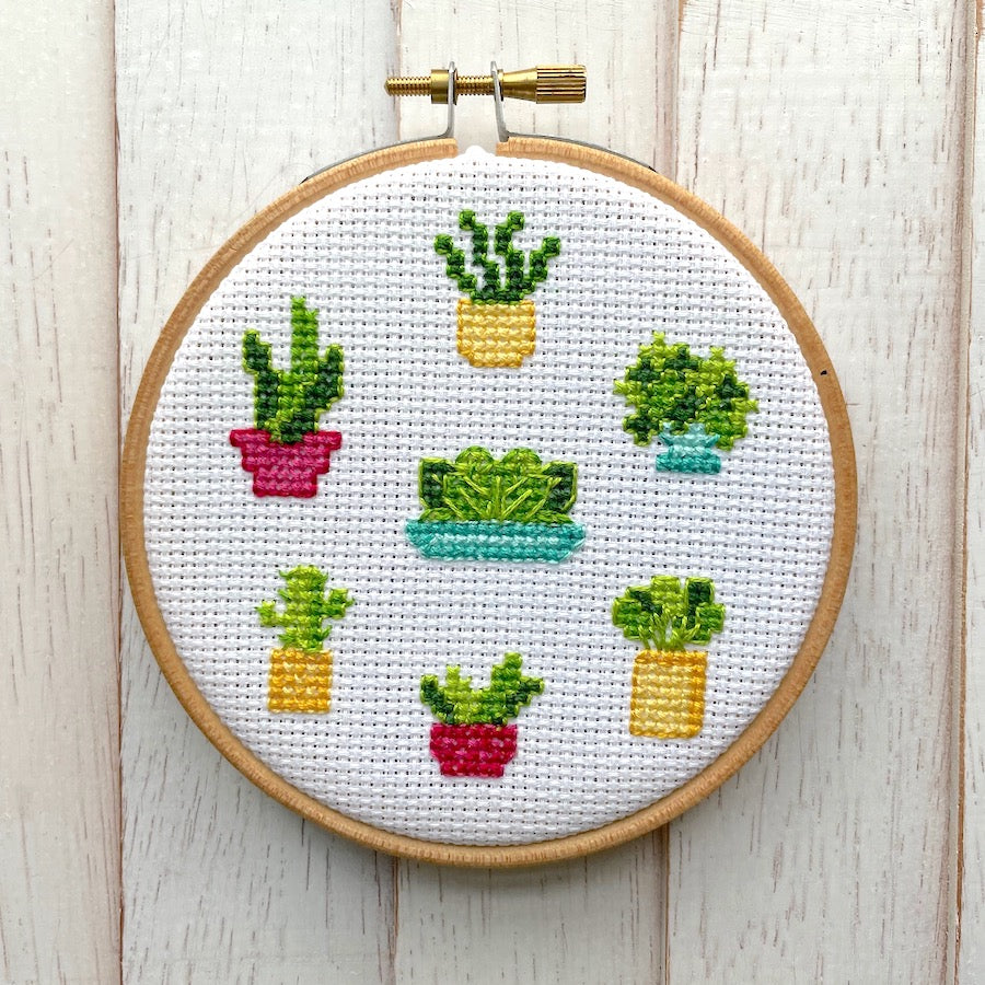 Plant Life Counted Cross Stitch DIGITAL Download