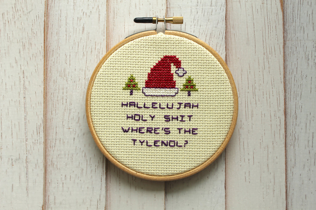 Christmas Vacation DIGITAL Download Counted Cross Stitch