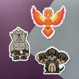 Greek Myth 3 Sticker Pack 3""