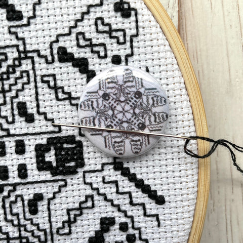 Blackwork Moths Needle Nannies