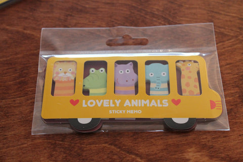 Lovely Animals Sticky Notes