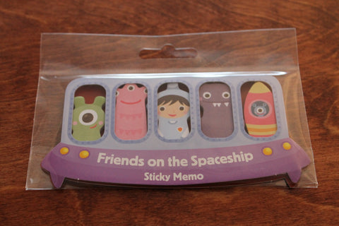Spaceship Sticky Notes