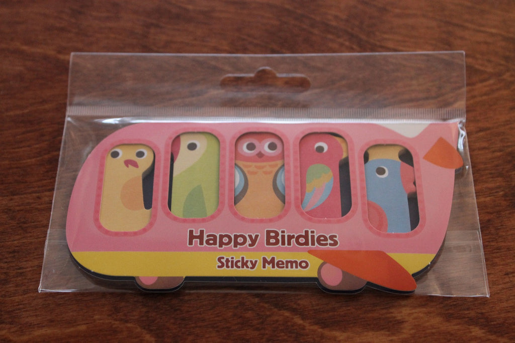 Happy Birdies Sticky Notes