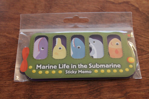Marine Life Sticky Notes