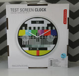 Kikkerland Test Screen Wall Clock