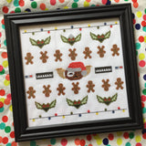 Gremlins Sampler Cross Stitch DIY KIT Intermediate