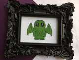 Cute Cthulhu Counted Cross Stitch DIY KIT Intermediate