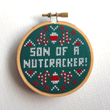 MINI Son of a Nutcracker! Elf Film Movie Counted Cross Stitch Pattern Download Beginner