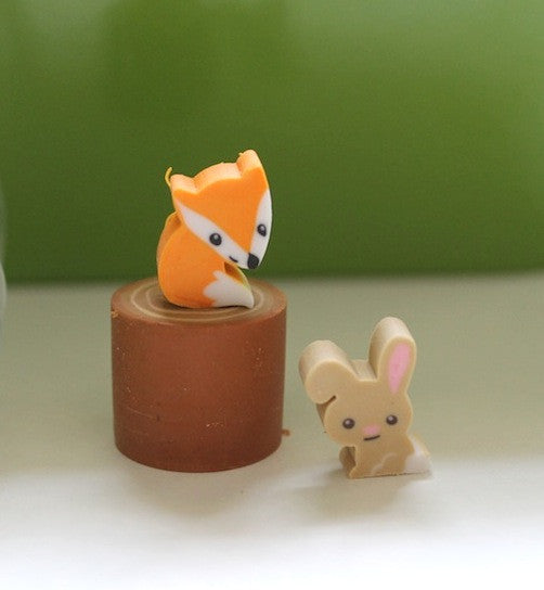 Woodland Tiny Erasers