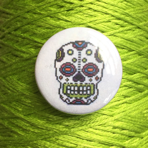 Bright Sugar Skull Needle Nannies