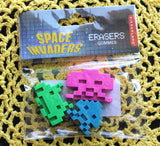 Space Invaders Erasers
