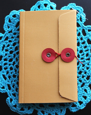 Writersblok Kikkerland Red Thread Ruled Notebook