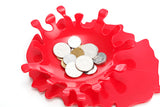 Splash Bloody Spoon Rest or Coin/Key Dish