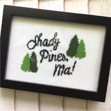 5x7 Golden Girls Shady Pines Cross Stitch DIY KIT Intermediate