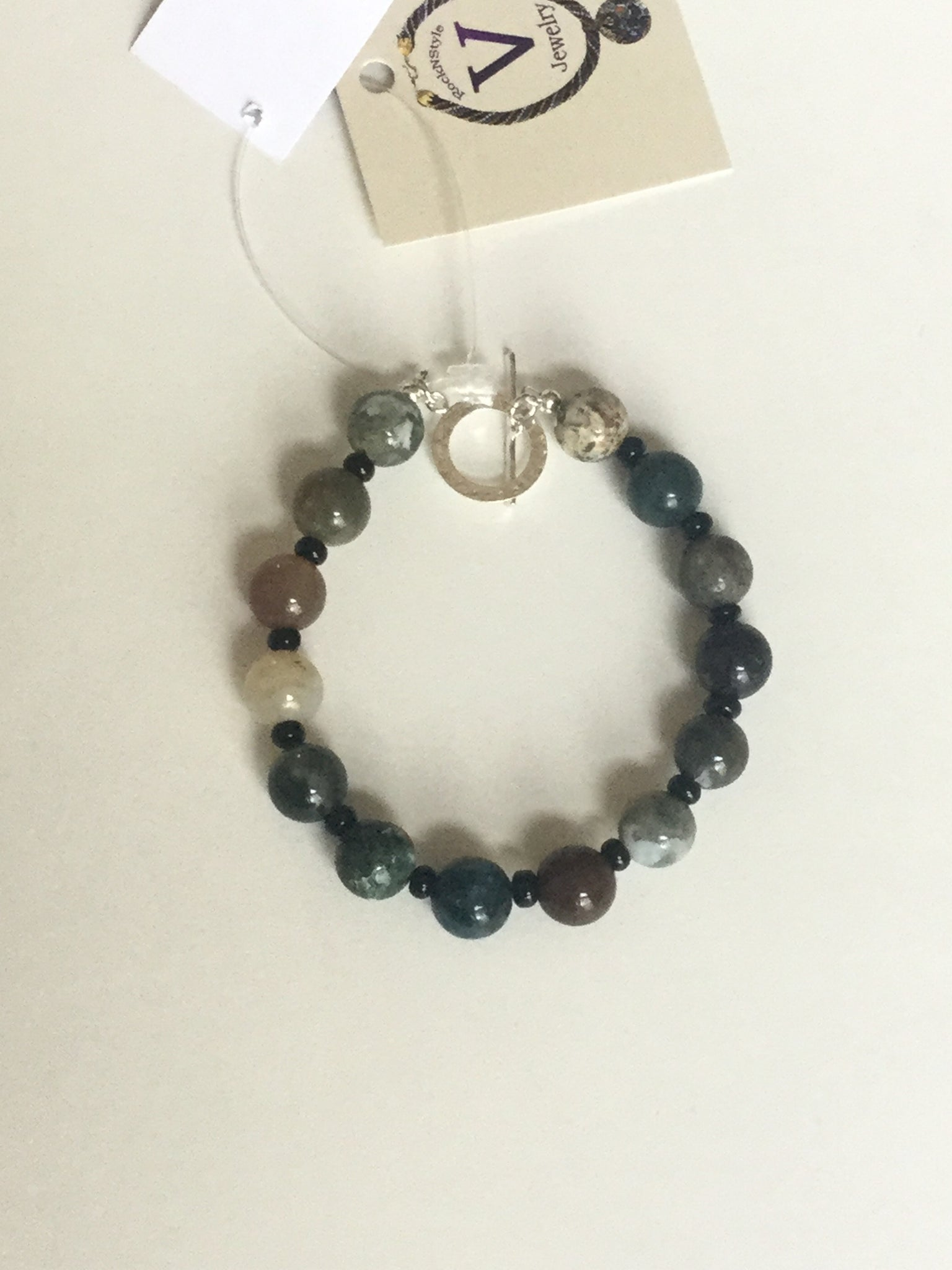 Fancy Jasper Men's Bracelet