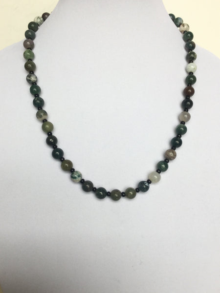 Fancy Jasper Men's Necklace