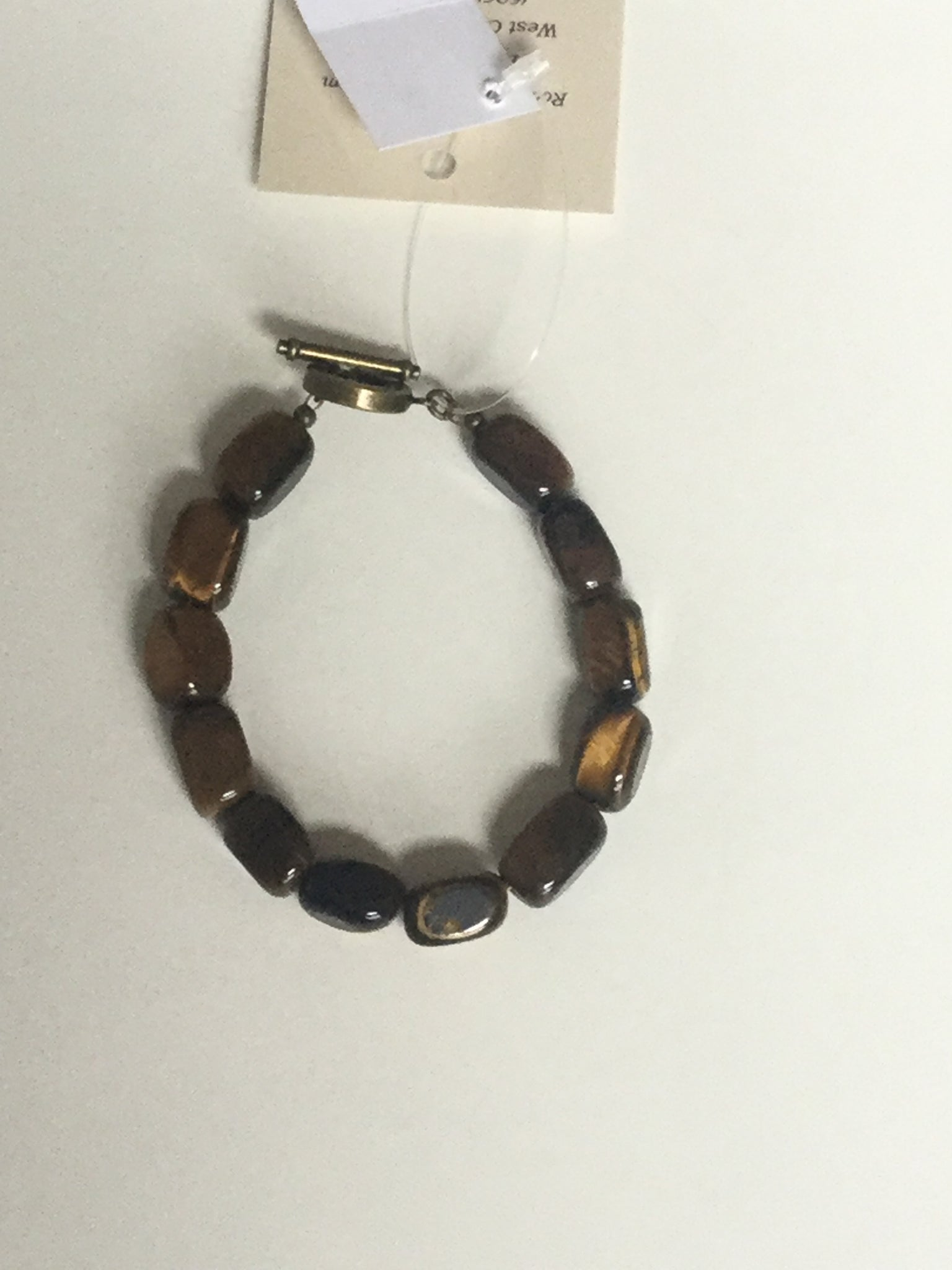 Yellow Tiger Eye Men's Bracelet