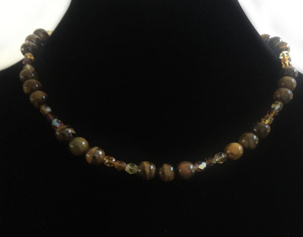 Tigereye Bead Necklace
