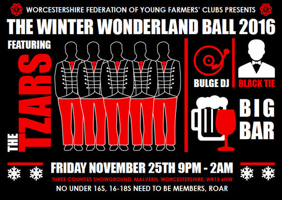 Winter Wonderland Ball 2016