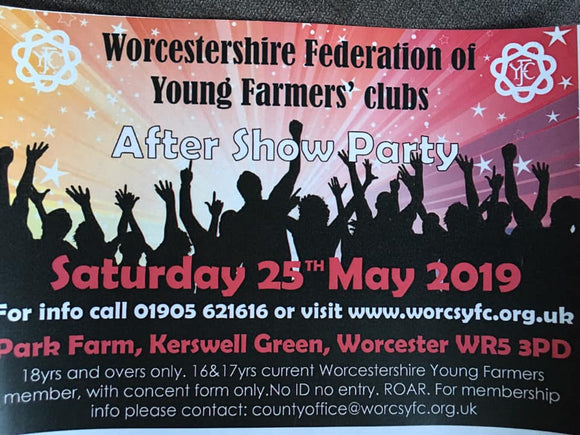 WFYFC Presents the After Show Party 2019 - 16 and 17 years