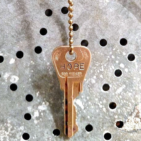 Key to The Lodge personalized necklace