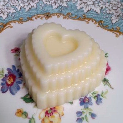 Scented wax Layered Heart Cake Melt-YOU choose scent!