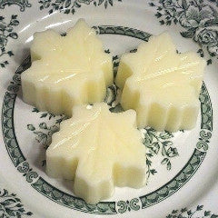 Scented wax Leaf Cake Melts-YOU choose scent!