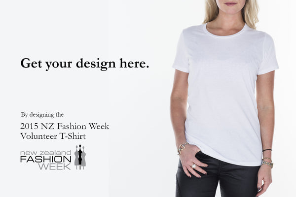 Design the Official Fashion Week Volunteer T-shirt