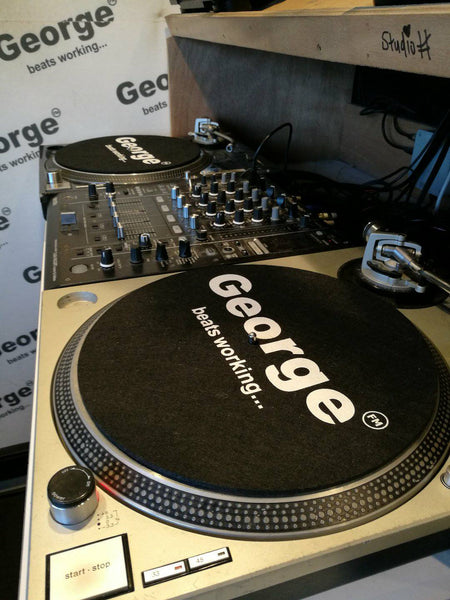 George FM Slip Mats - Set of 2