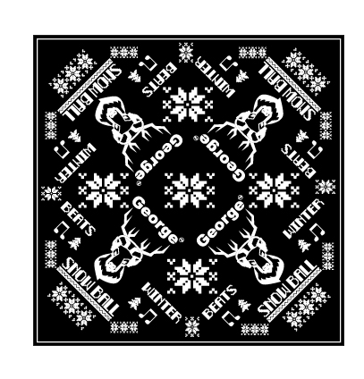 Snow Ball 2018 Bandana - Black