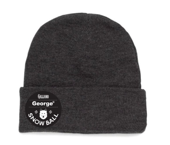 Snow Ball Patch Fox Beanie