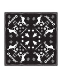 DJ Deer Bandana in Black