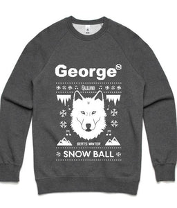 Snow Ball Grey Fox Jumper