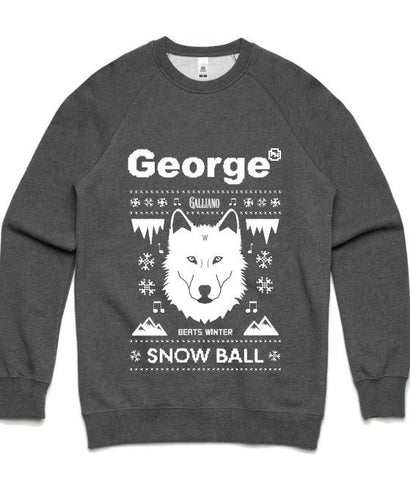 Snow Ball 2017 - Grey Jumper