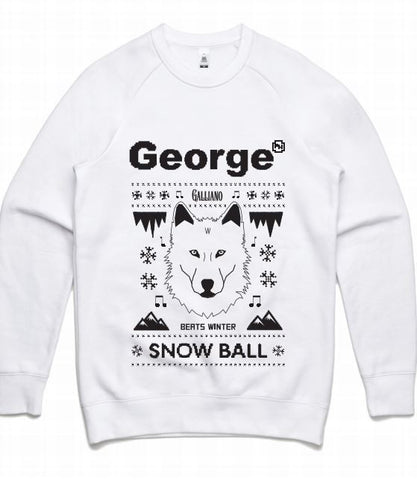 Snow Ball 2017 - White Jumper