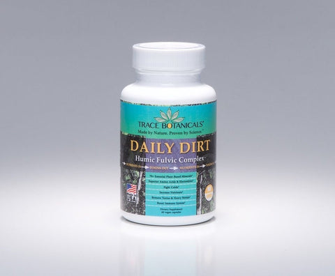 DAILY DIRT (Humic Fulvic Complex) 60 Vegan Capsules