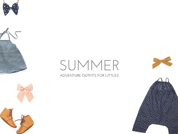 Summer Adventure Outfits for Littles