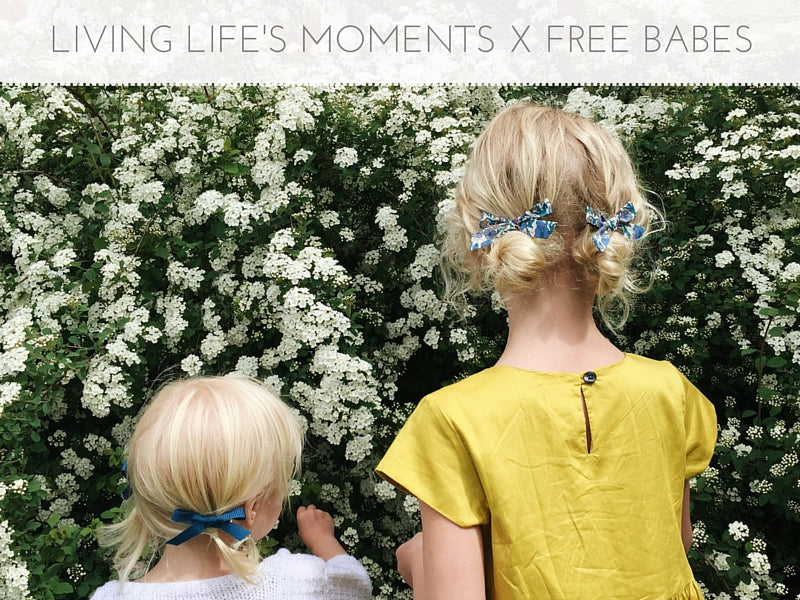 Living Life's Moments X Free Babes Handmade