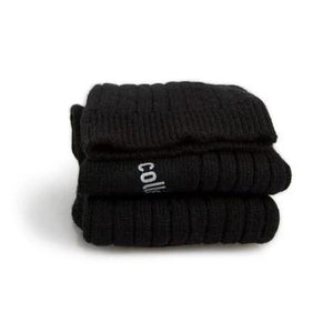 Wool & Cashmere Ankle Socks // Noir Intense