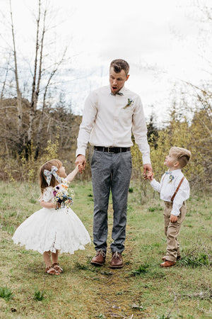 Kid Bow Tie // Flower Girl
