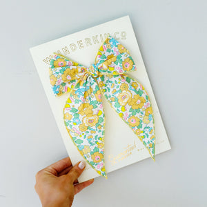 Fable // Betsy Liberty of London // Yellow Floral