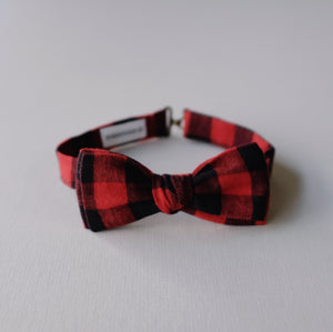 Adult Bow Tie // Buffalo Check
