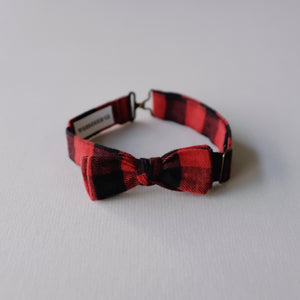 Kid Bow Tie // Buffalo Check