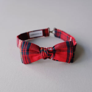 Adult Bow Tie // Holiday Plaid