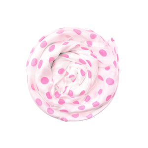 Swaddle // Hot Pink Dot