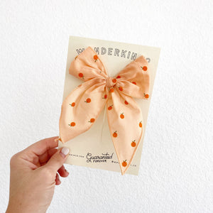 Midi Fable // Flocked Peach Clementines