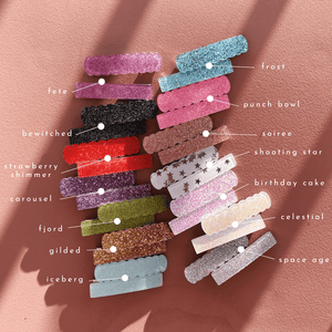 Bar Clips // Glitter Set 2