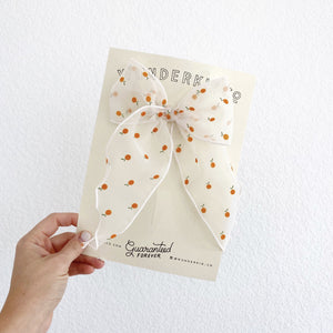 Fable // Flocked Sheer Clementines